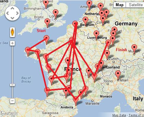 Gonz tour de France